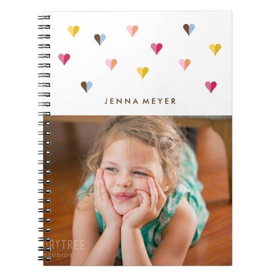 Sweet Hearts - Multi Coloured - Photo Notebooks