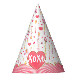Sweet Hearts 'n' Arrows Valentine's Day Party Hat