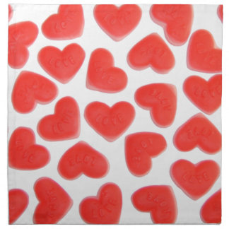 Sweet Hearts napkin set
