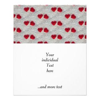 sweet hearts, pattern 11.5 cm x 14 cm flyer