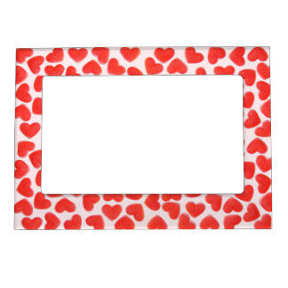 Sweet Hearts Pink magnetic frame