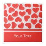 Sweet Hearts Pink 'text' tile