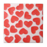 Sweet Hearts Pink tile