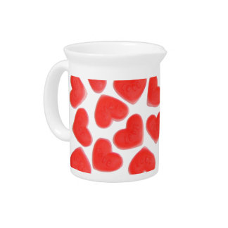 Sweet Hearts  pitcher