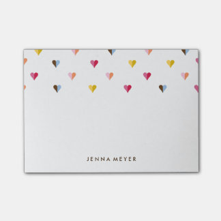 Sweet Hearts Small - Multi Colored Post-it Notes