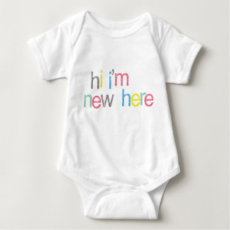 Sweet! Hi I'm new Here... Baby Bodysuit