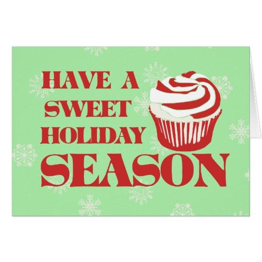 Sweet Holiday Season Card