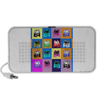 SWEET Home Abstract Graphic TEMPLATE Reseller GIFT Mini Speakers