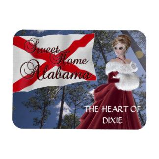 Sweet Home Alabama Flexible Magnet