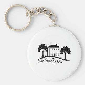 Sweet Home Alabama Key Ring