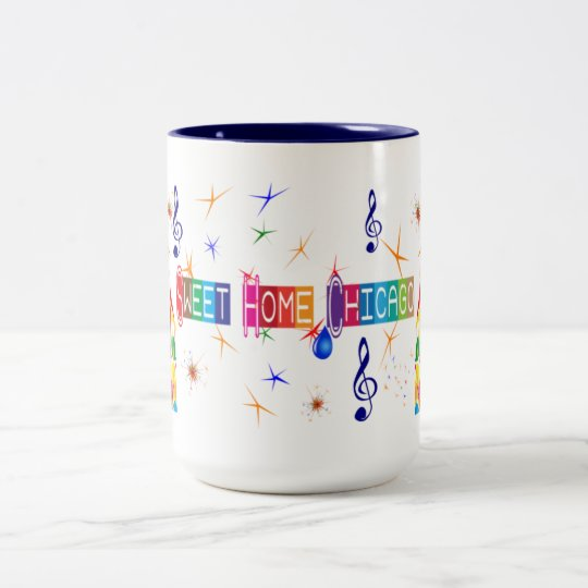 Sweet Home Chicago Blues Mug