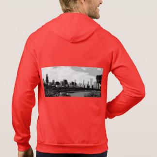 Sweet Home Chicago Men's Zip Up Sweatshirt