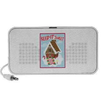 Sweet House Laptop Speaker