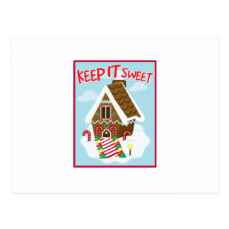 Sweet House Postcard