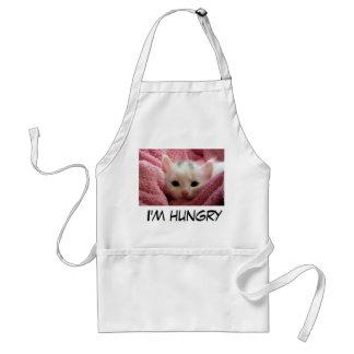 Sweet hungry Kitten Standard Apron