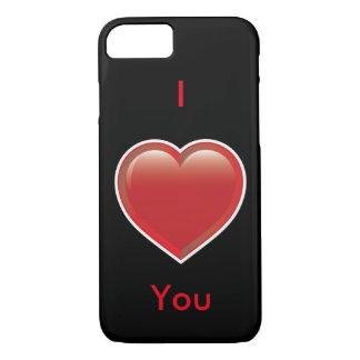 Sweet I Love You Heart iPhone 7 Case