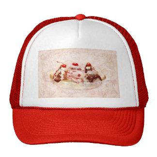 Sweet - Ice Cream - Banana split Trucker Hats