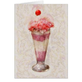 Sweet - Ice Cream - Ice Cream Float Greeting Card