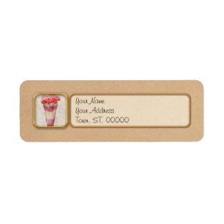Sweet - Ice Cream - Ice Cream Float Return Address Label