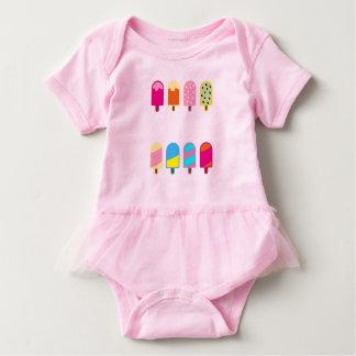 sweet icecream Baby Tutu Bodysuit