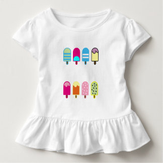 sweet icecream Toddler Ruffle Tee