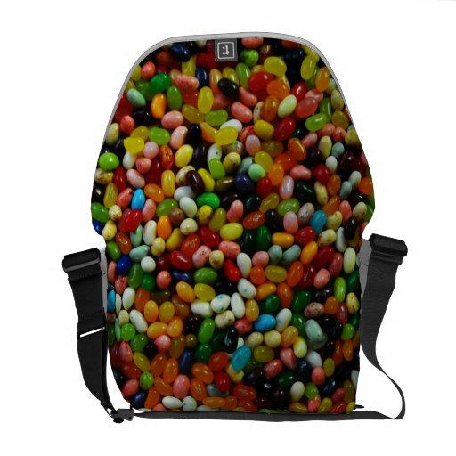 Sweet Jelly Beans Messenger Bags