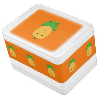 Sweet Kawaii Pineapple igloo can cooler Igloo Cooler