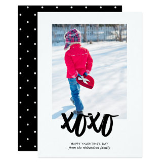 Sweet Kisses | Happy Valentine's Day with Photo Card