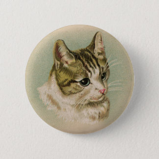 Sweet Kitten 6 Cm Round Badge