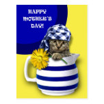 Sweet Kitten. Mother's Day Customisable Postcards