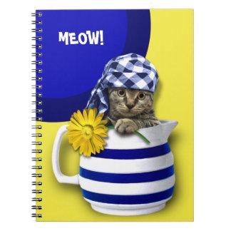 Sweet Kitten Mother's Day Gift Notebooks
