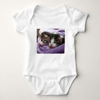 Sweet kittens baby bodysuit