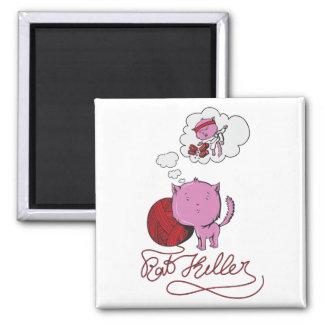 sweet kittie or rat killer magnets