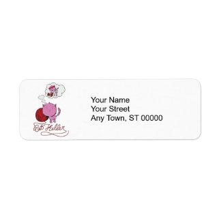 sweet kittie or rat killer return address label