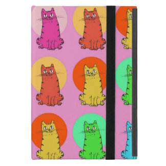 sweet kitties multiple color tint funny cartoon cases for iPad mini
