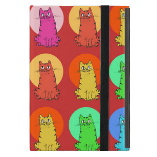 sweet kitties multiple color tint funny cartoon iPad mini cases
