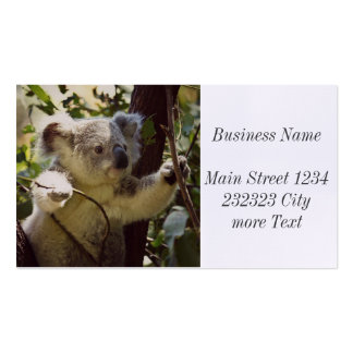 sweet koala baby Double-Sided standard business cards (Pack of 100)