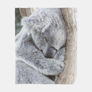 Sweet Koala Fleece Blanket