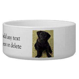 Sweet Lab Puppy Pet Food Bowls