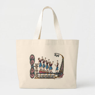 Sweet Lady Singers Large Tote Bag