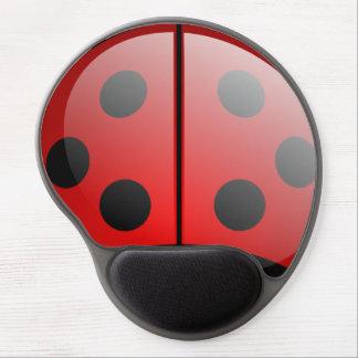 Sweet ladybird mousemat gel mouse pad