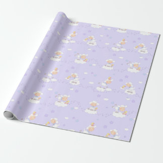 Sweet Lamb on Cloud Wrapping Paper