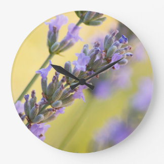 Sweet lavender large clock