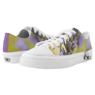 Sweet lavender printed shoes