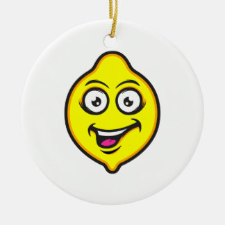 Sweet Lemon Christmas Ornament