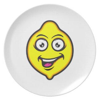 Sweet Lemon Dinner Plates