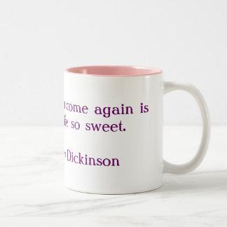 Sweet Life Two-Tone Coffee Mug