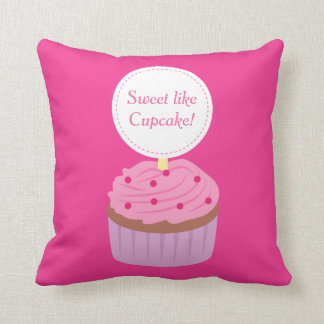 Sweet like Cupcake, Pink, For Girls Cushion