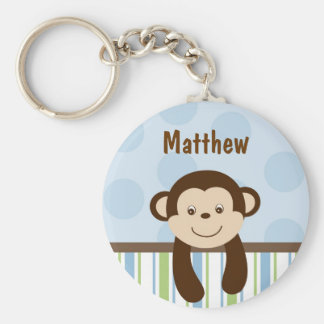 Sweet Lil Monkey Personalised Key Chain