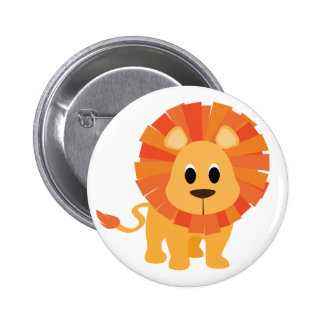 Sweet Lion 6 Cm Round Badge